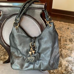 Handbags - Black Italian Leather Tote